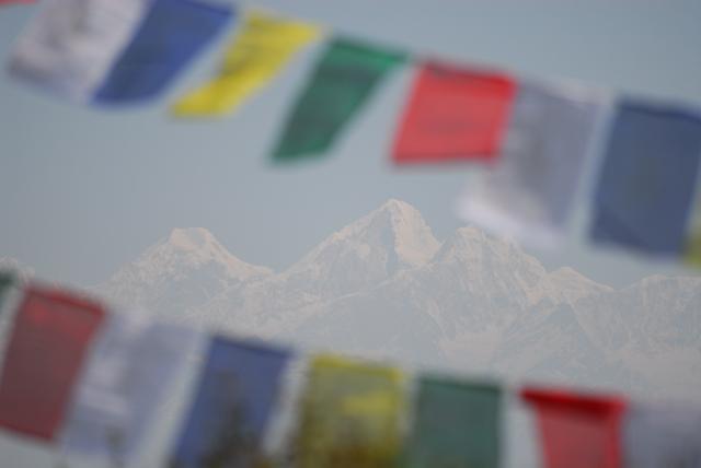 Himalaya mountains, Nagarkot, Nepal