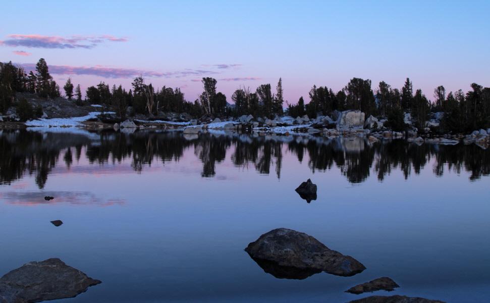 Evening at Island Pass