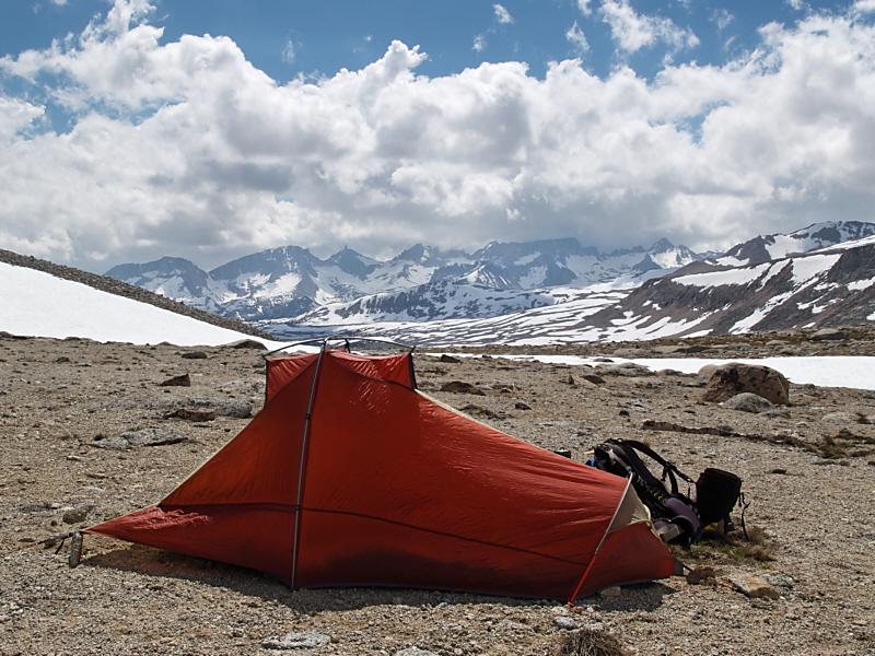Camp at 3770m (12,300ft)