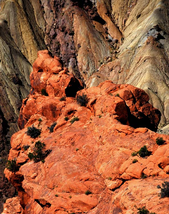 Interesting Formations at Upheaval Dome