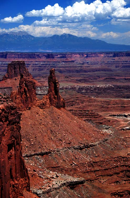 Millions of Years of Erosion Leave these Pointy Spires