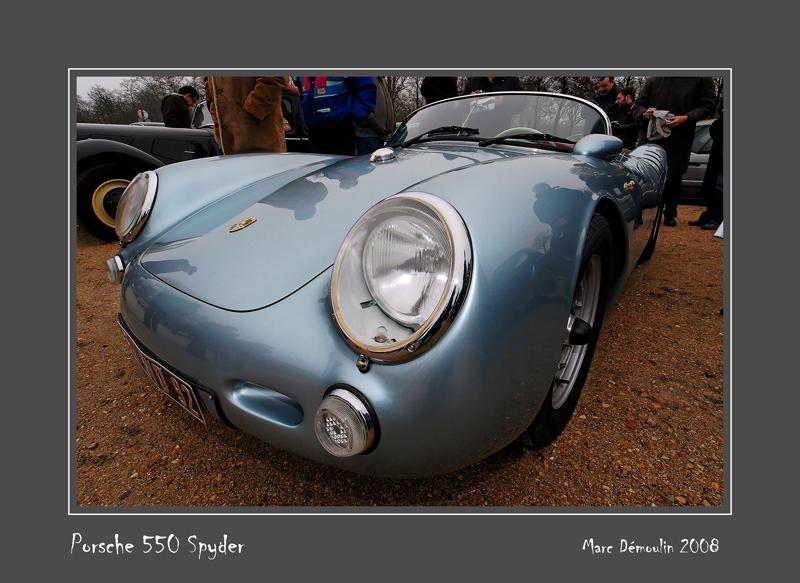 PORSCHE 550 Spyder Vincennes - France