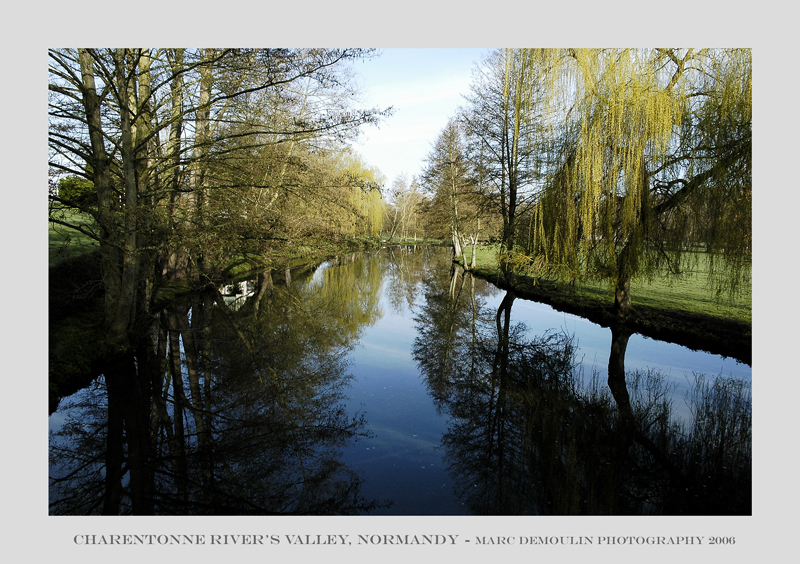 Normandy, Charentonne rivers valley 2