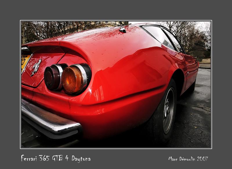 FERRARI 365 GTB 4 Daytona Paris - France