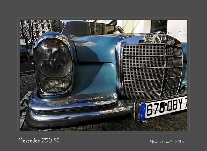 MERCEDES 250 SE Paris - France