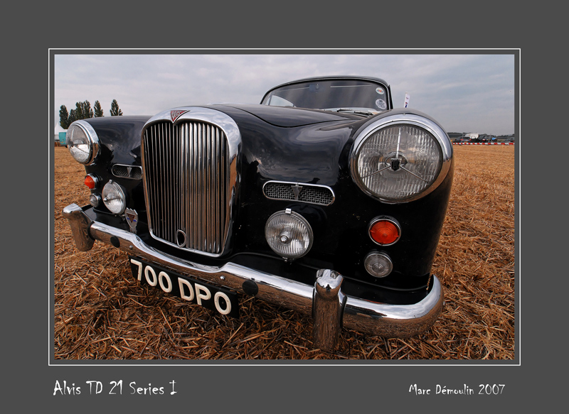 ALVIS TD 21 Series I Reims - France