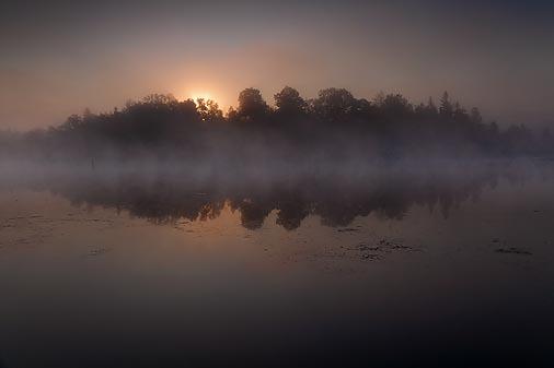 Scugog River Sunrise 20090904