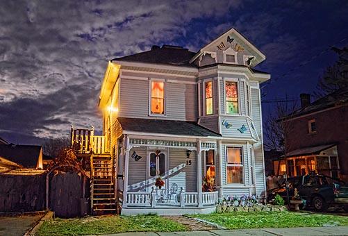 Nighttime House 20111210