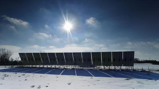 Solar Array 20120206