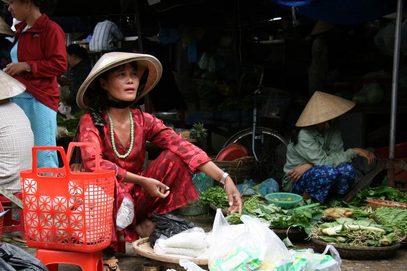 Jolie vendeuse, à succès - Hoï An - Vietnam