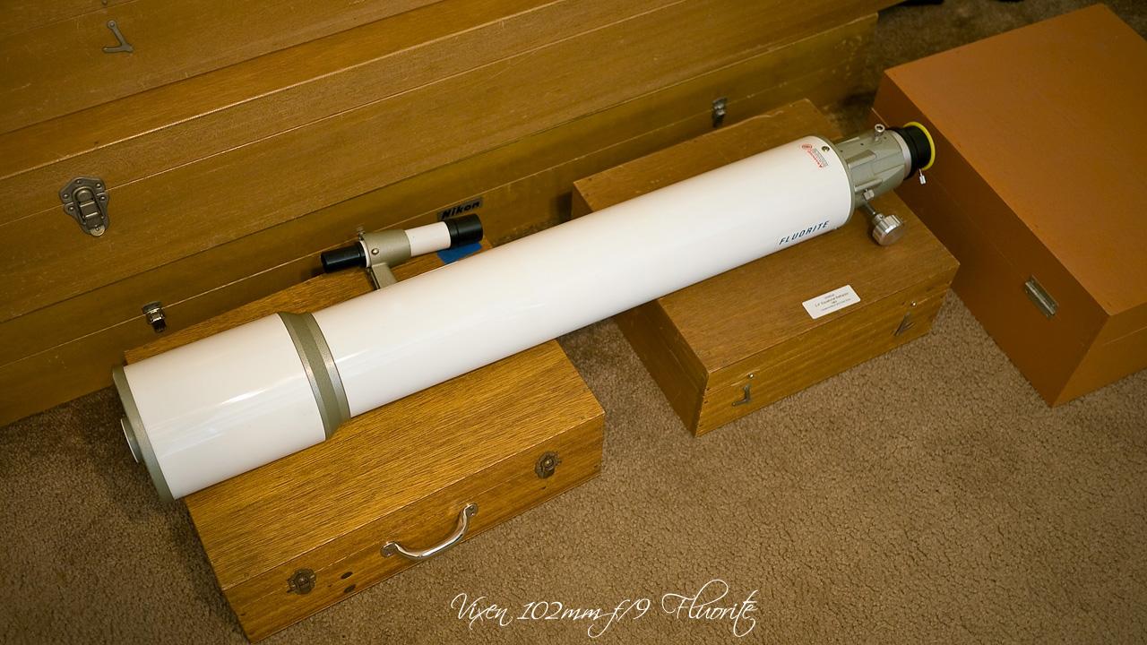 Vixen 102mm F/9 Fluorite