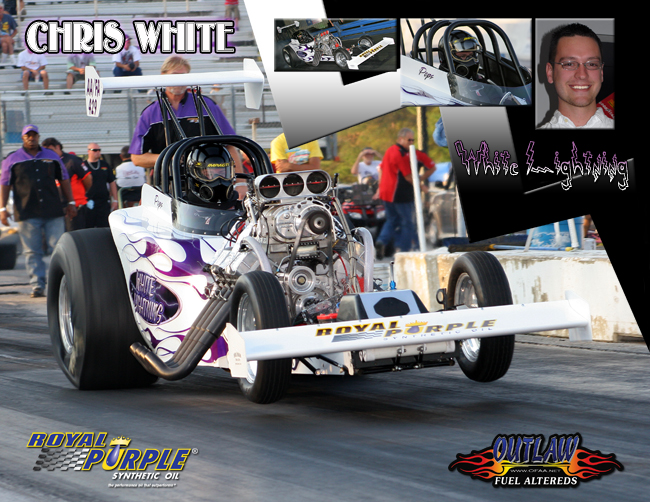 Chris White Outlaw Fuel Altered 2009