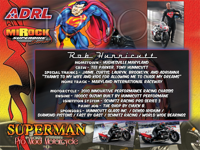 Rob Hunnicutt ADRL Bike 2012