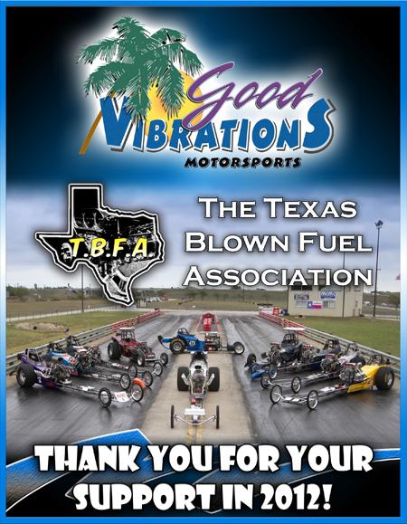 2012 Texas Blown Fuel Sponsor
