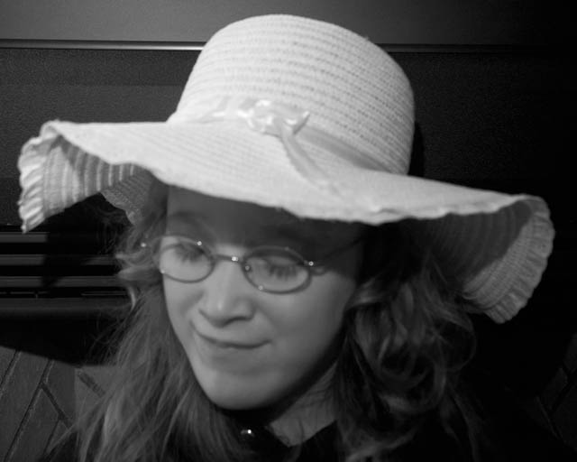 Aubry In Her Easter  Hat