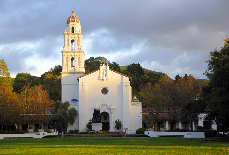 St  Mary's College of California Chapel photo - Photo-Focus