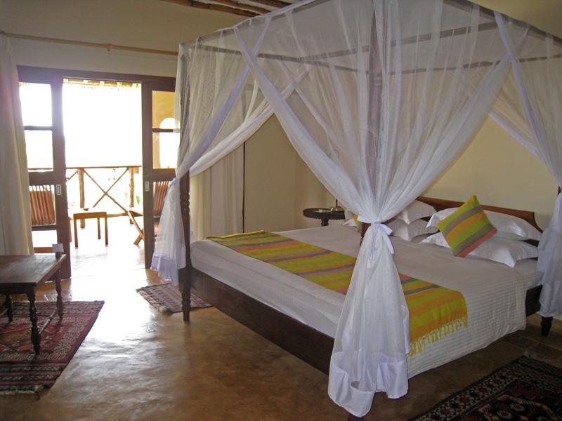 Hotel room at the Nepture Pwani Beach Resort