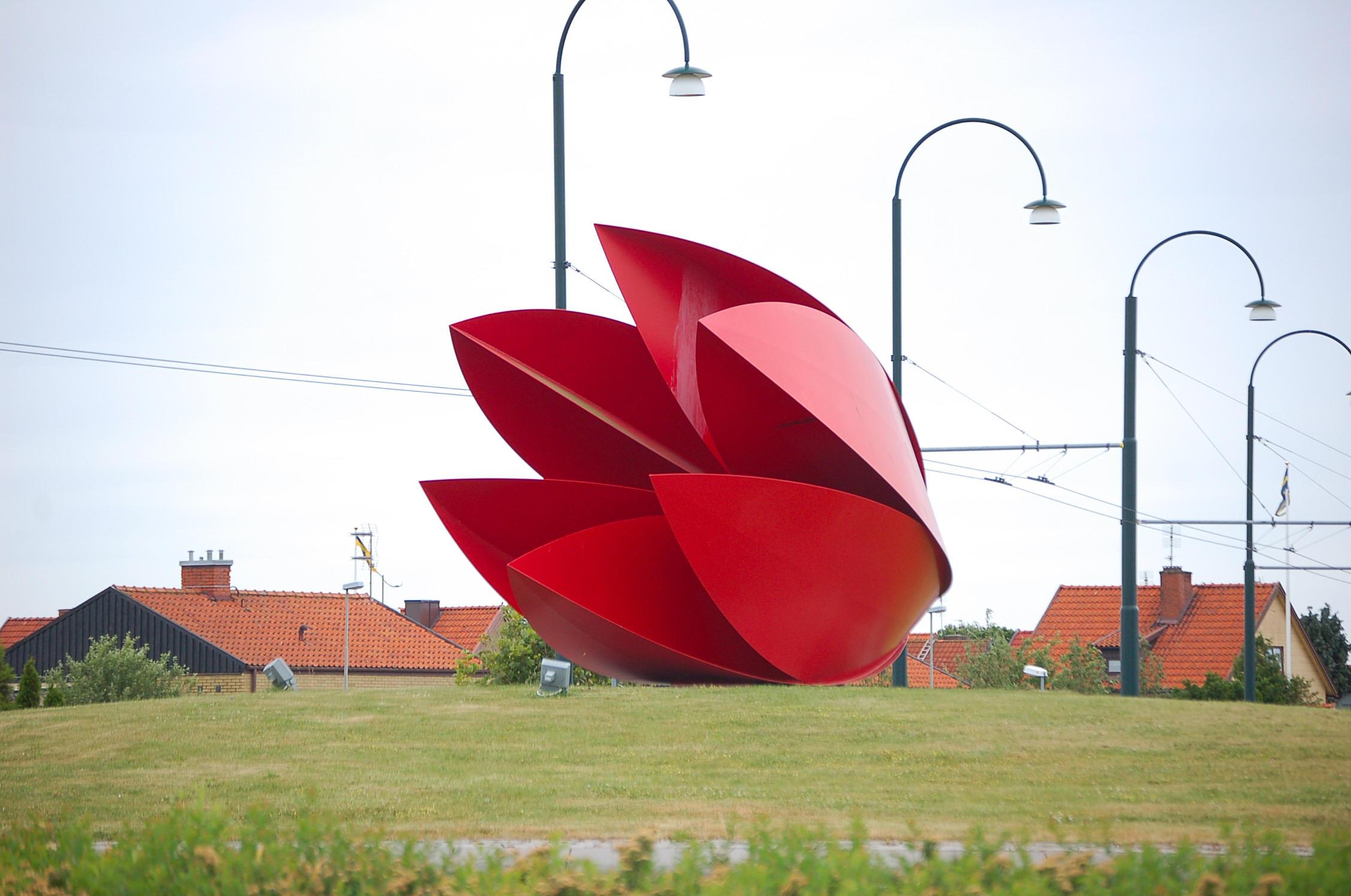 Tulip Sculpture  - Landskrona,  Sweden