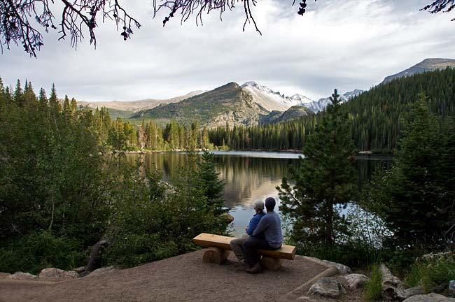 Cindy and Me at Bear Lake