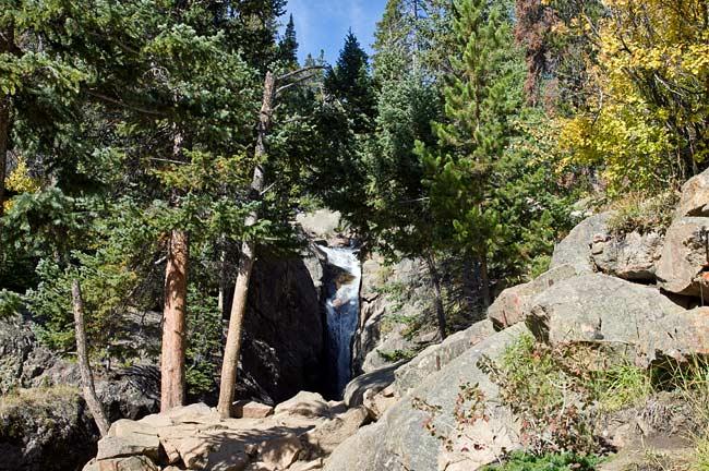 Fall River Road - Chasm Falls 1