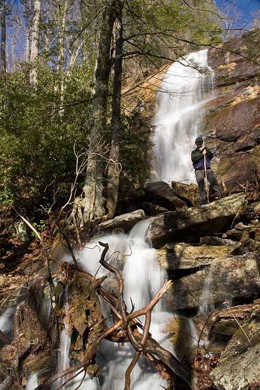 waterfall on Poundingmill Branch