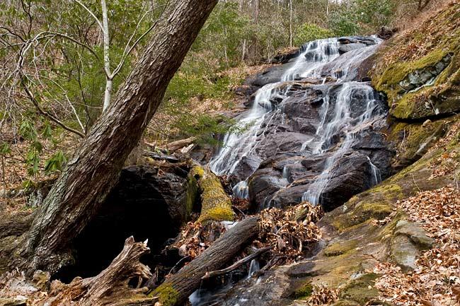 waterfall near Bennett Gap