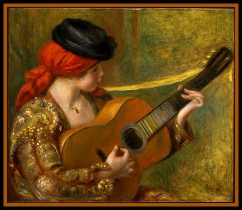 Renoir jeune espagnole