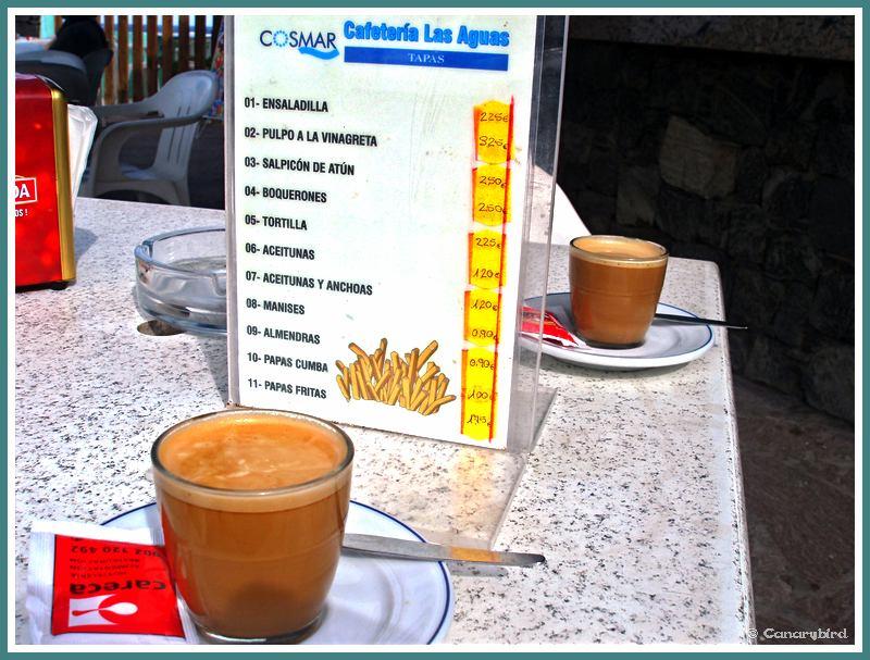 cafes cortado