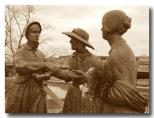 three great women...