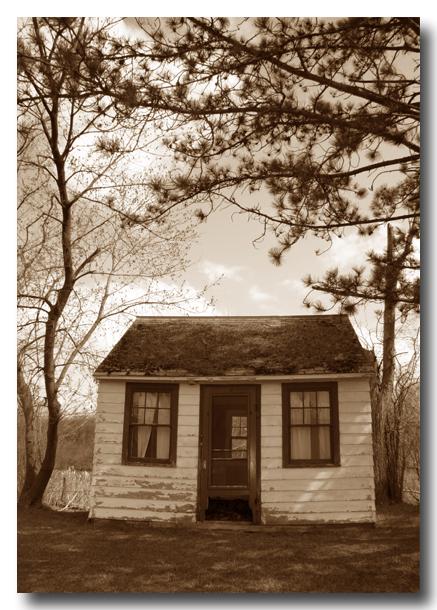 house alone...