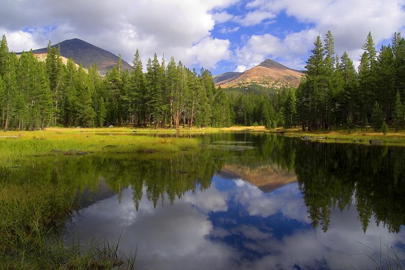 Mt Dana & Mt Gibbs reflection