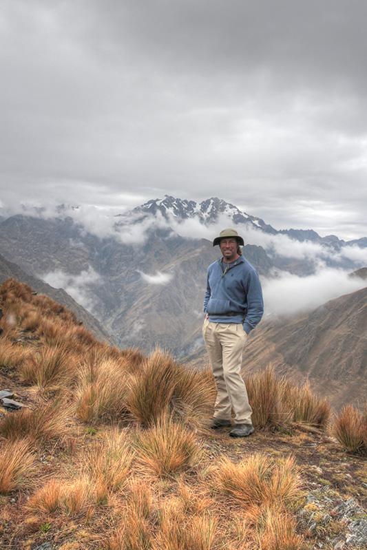 Greg in Peru