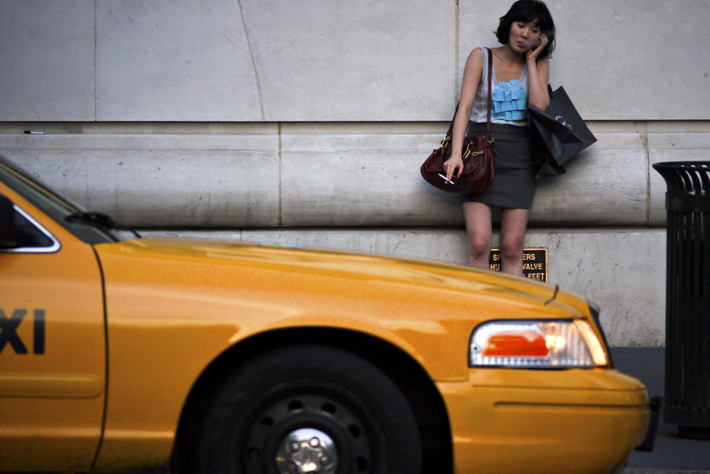 Smoker, New York City, New York, 2010
