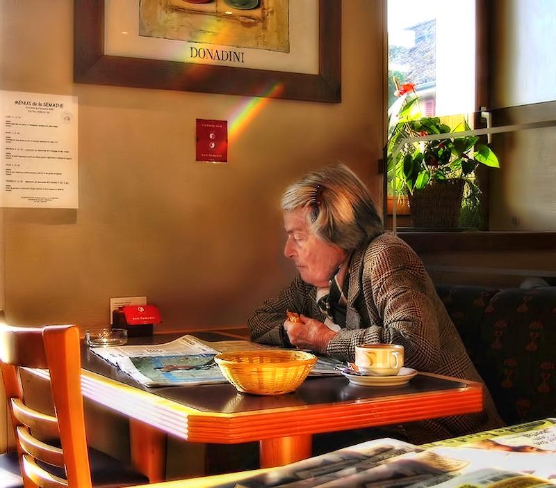 Rainbow breakfast...