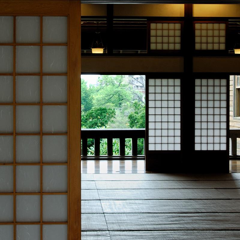 A Japanese room inside Hot Springs Museum