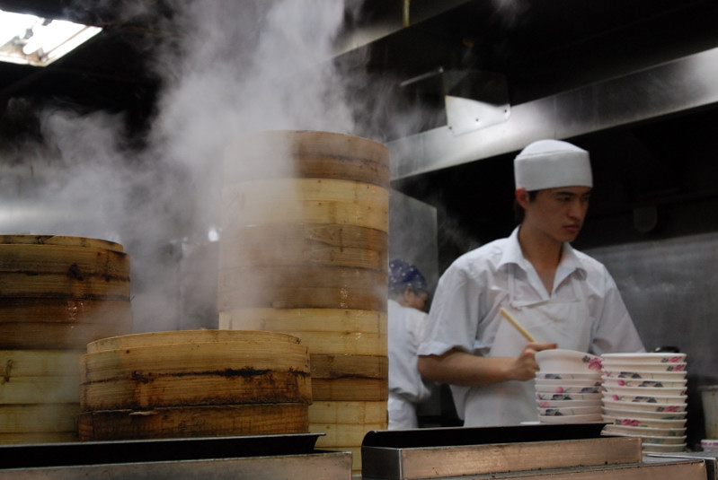 Steaming of Dim Sum