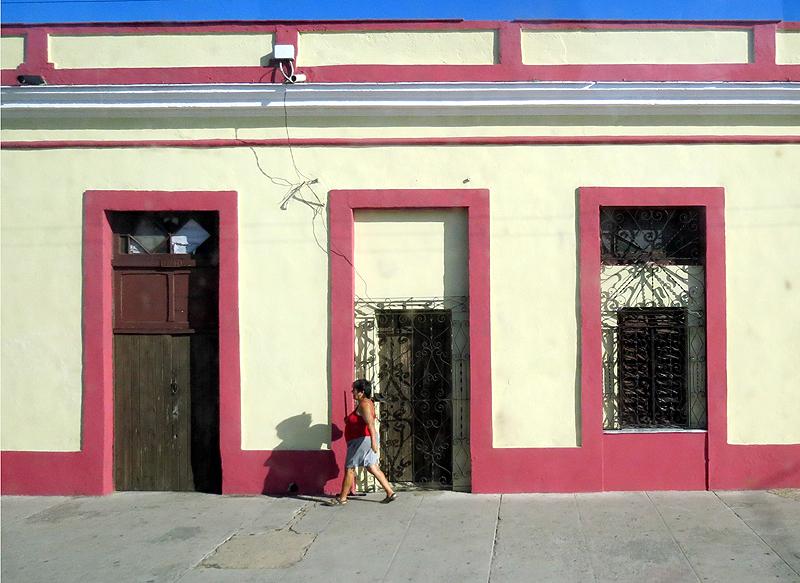 façade framboise
