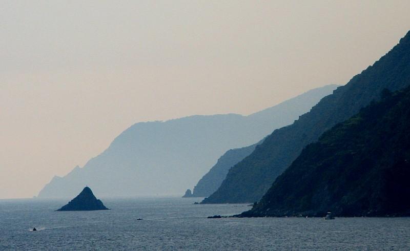 La côte de Cinqueterre