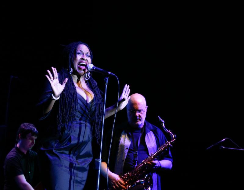 Tom Scott & Paulette McWilliams at Java Jazz 2009