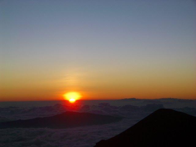 Hawaii  sunset at Mauna Kea Summit 2006-11-19 063.JPG