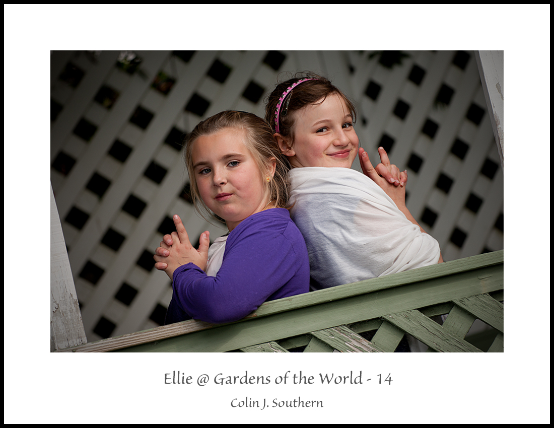 Say Hello to Ellie @ Gardens of the World