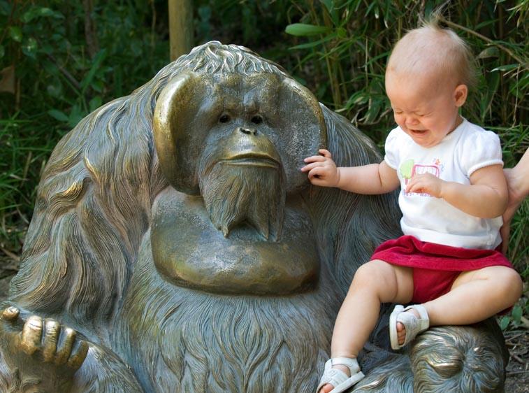 Unfriendly Statue
