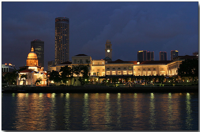 Boat Quay - across the river