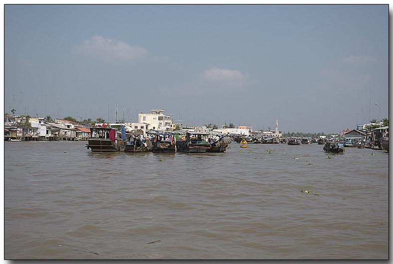 Floating Market - Mekong River
