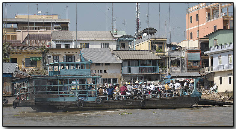 People Ferry - Floating Market