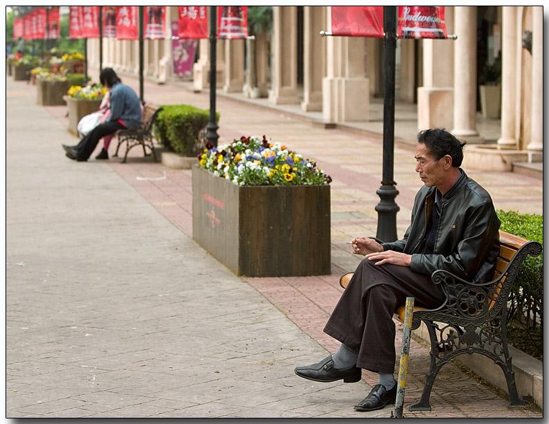Heng Shan Road - Enjoying a Spring morning