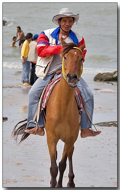 Beach cowboy