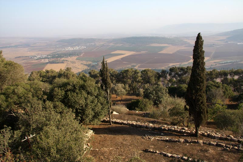 Panorama from Mount Tabor