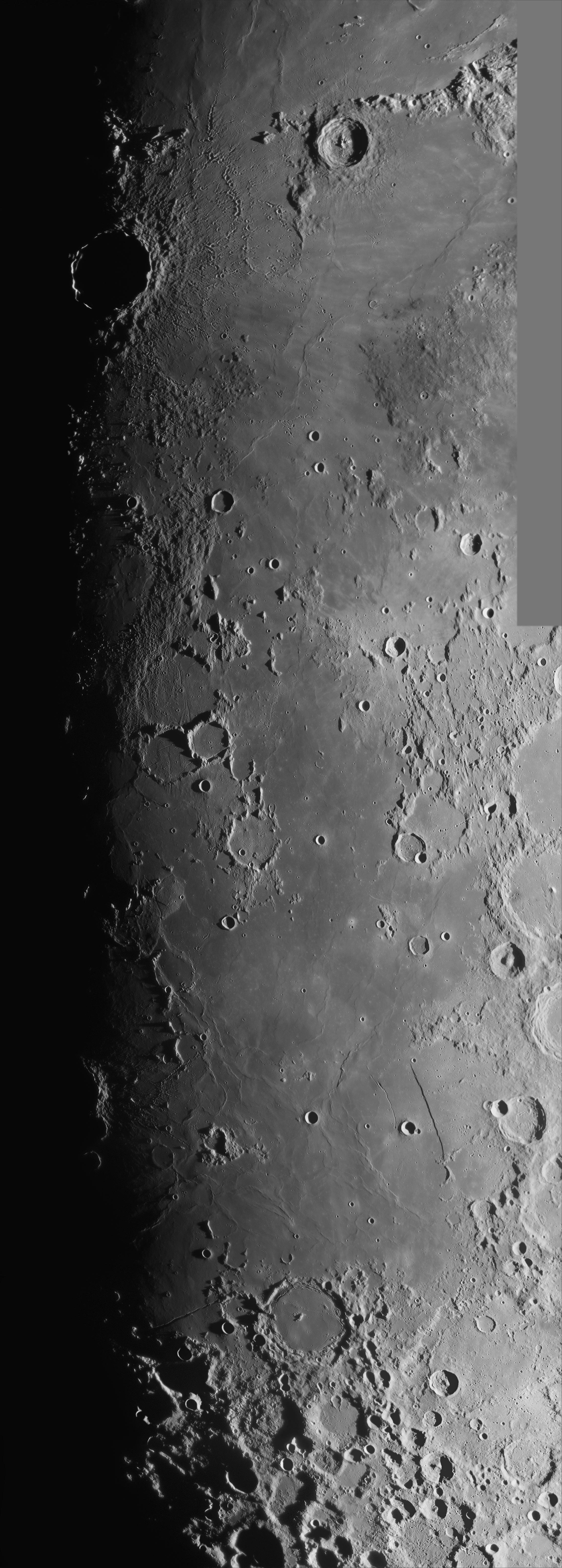 Terminator : Copernicus - Pitatus 15-Feb-08 18:20-20:17UT