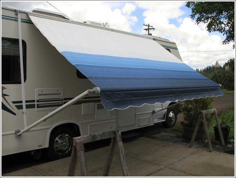RVNet Open Roads Forum Tech Issues AE Awning Fabric Replacement